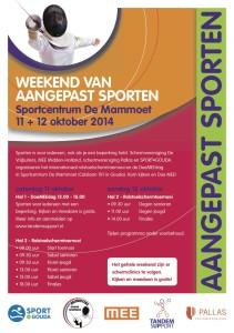 flyer weekend aangepast sporten 3
